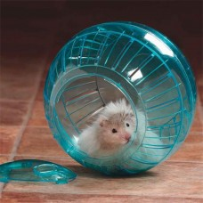 Transparent Hamster Running Ball